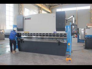 125T mașină de îndoire foaie de 6mm, frână de presiune hidraulică WC67Y-125T 3200 pentru China
