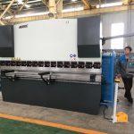Mașină de îndoit de 125 de coli pentru formarea oțelului inoxidabil