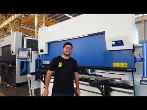 6-Axe CNC Frână de presare Euro Pro B32135 cu sistem de prindere Wila prin intermediul clienților australieni
