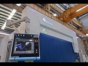8 axe CNC frana de presa hidraulica 110 tone 3200mm