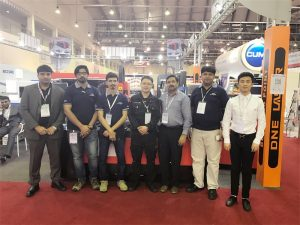 Delegația din Dubai vizitează expoziția noastră