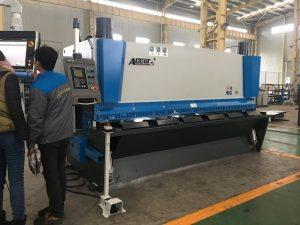Mașină de ghilotină hidraulică MS8-8 × 3200 cu sistem de susținere a foilor