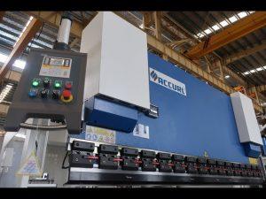 Frână hidraulică de presare MB7-100Tx3200mm cu sistem de protecție lazersafe și sistem ELGO P40 NC