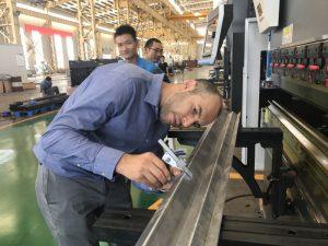 Iran Client de testare a mașinii în Fabrica noastră 2