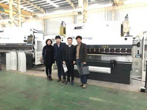 Clienții coreeni vizitează Fabrica noastră