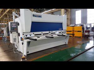 Mașină de forfecare a mașinilor de forfecare a ghilotinei de înaltă precizie cu sistem ELGO P40T CNC