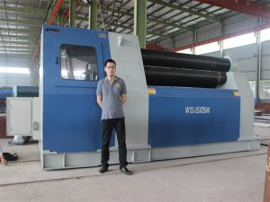 Clienții din Thailanda achiziționează mașină W12 Rolling Machine de la compania Accurl