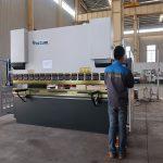 promovare Frână de presă hidraulică din tablă hidraulică WC67Y, mașină de îndoit pentru profil de aluminiu