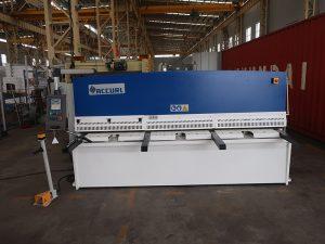 CNC e21S QC12Y-6 × 3200 mașină de forfecare hidraulică