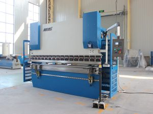 Wc67K 100t siemens motor servo mașină de îndoire foaie de metal CNC frână de presă hidraulică cu controler Da41